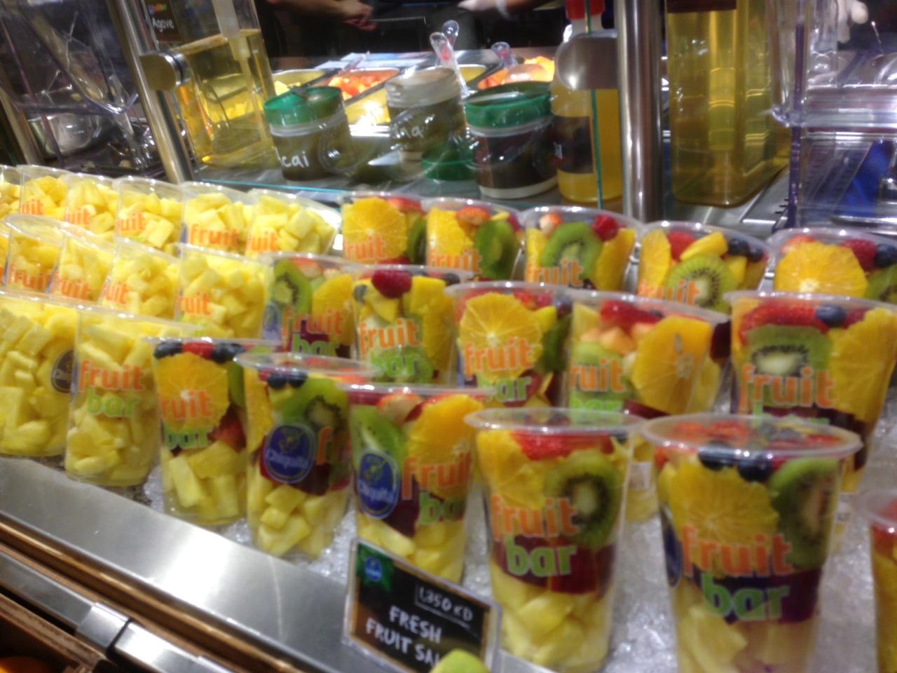 Chiquita Fruit Bar - Kuwait Opening - Sash Designs : +Size ...